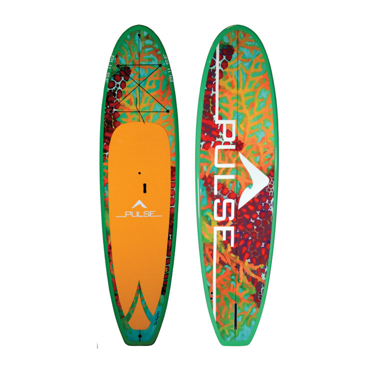 "PULSE PULSE TRADITIONAL 10""4"" STANDUP PADDLEBOARD PACKAGE (REEF)"