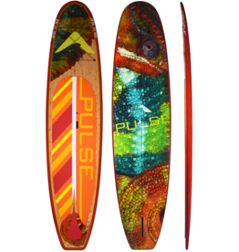 """PULSE PULSE TRADITIONAL 11""""4"""" STANDUP PADDLEBOARD PACKAGE (HOUDINI)"""