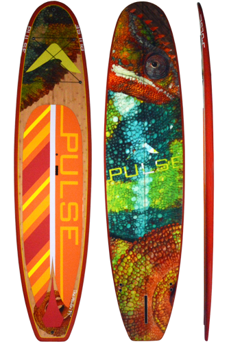 "PULSE PULSE TRADITIONAL 11""4"" STANDUP PADDLEBOARD PACKAGE (HOUDINI)"