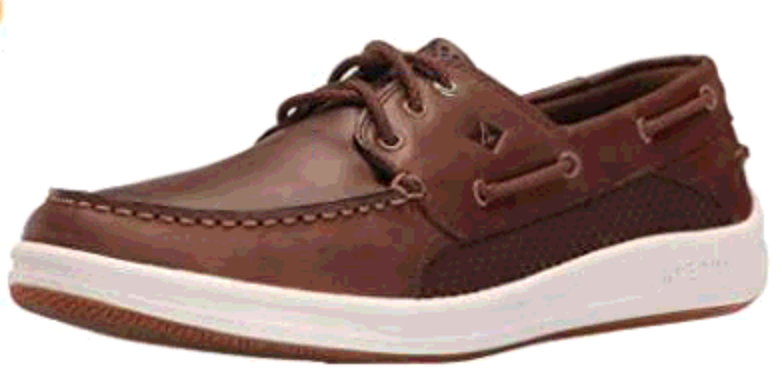 SPERRY SPERRY GAMEFISH 3 EYE DARK BROWN BOAT SHOE (MEN'S)