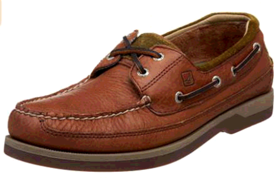 SPERRY SPERRY MAKO COFFEE/FAWN MOC BOAT SHOE (MEN'S) *CLEARANCE*