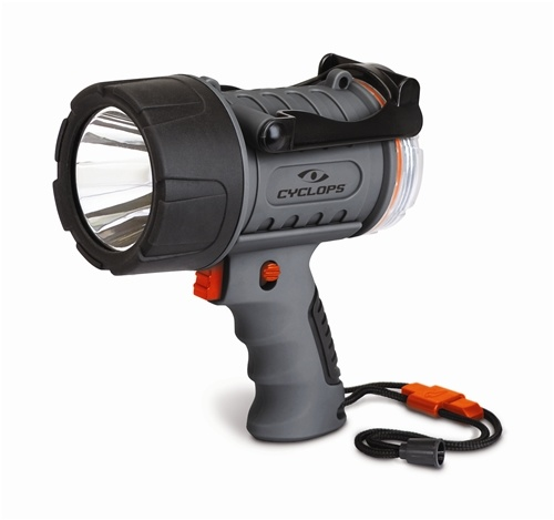 CYCLOPS CYCLOPS HANDHELD LIGHT, 300 LUMENS, LED, RECHARGEABLE