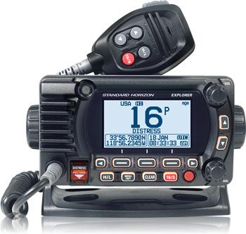 STANDARD HORIZON STANDARD HORIZON EXPLORER NMEA2000 BASEMOUNT VHF