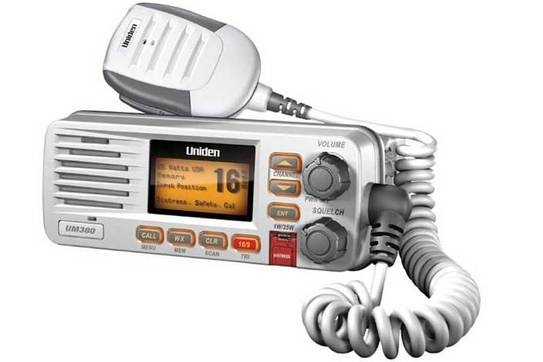 UNIDEN UNIDEN 25 Watt Fixed Mount Marine Radio with DSC ( White )