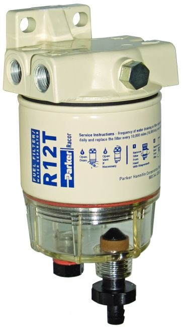 RACOR SNAPP MARINE REPLACEMENT FUEL FILTER/SEPARATOR 10 MICRON (GAS/DIESEL)