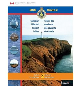TIDE TABLES GULF ST LAWRENCE VOL2 2019