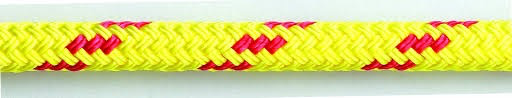 "FLOATING DOUBLE BRAID POLYPROPYLENE 3/8"" YELLOW"