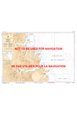 CANADIAN HYDROGRAPHIC SERVICE CHART 5058