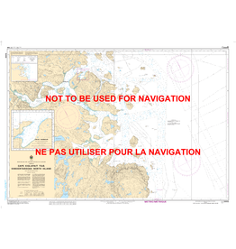CANADIAN HYDROGRAPHIC SERVICE CHART 5055