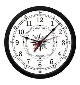 "TRINTEC TRINTEC 'ATLANTIC' WHITE TIDE / TIME CLOCK 9"""