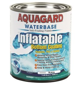 AQUAGARD AQUAGARD WATERBASE RUBBER INFLATABLE BOAT PAINT (QUART)