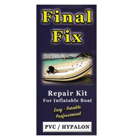 FINAL FIX FINAL FIX REPAIR KIT FOR INFLATABLE BOAT HYPALON/PVC