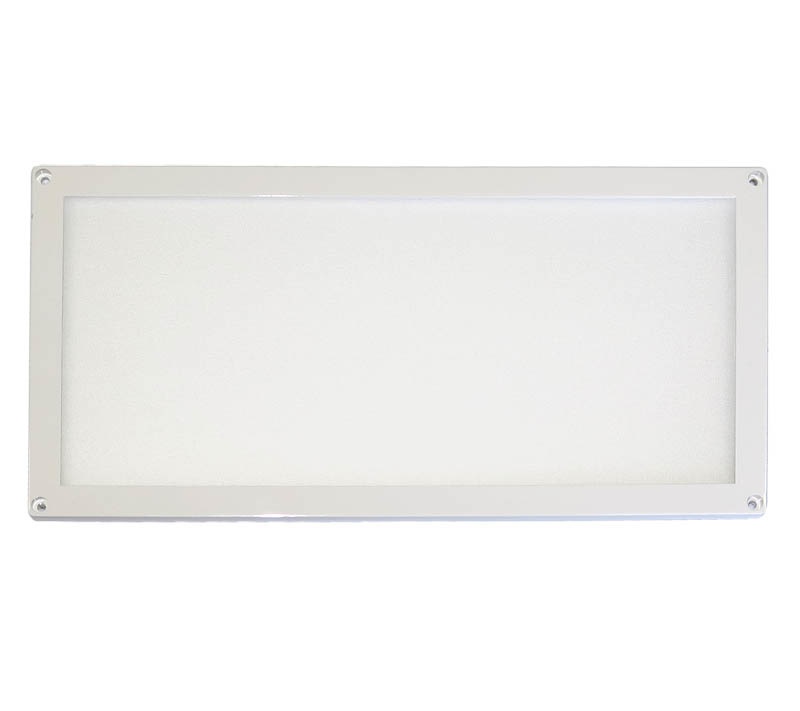 "AAA CEILING LIGHT W/ WHITE LEDs 4"" X 8"" RECTANGULAR 6WATT"