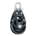 HARKEN 45MM HARKEN ALUMINUM ELEMENT SINGLE BLOCK - SWIVEL H6230