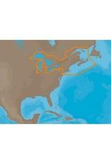 GREAT LAKES & MARITIMES C-MAP MAX C-CARD CHART (NA-M026)