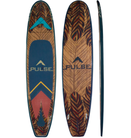 """PULSE PULSE TRADITIONAL 11""""4"""" STANDUP PADDLEBOARD PACKAGE (FEATHER) 2018"""
