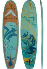 """PULSE PULSE TRADITIONAL 10""""4"""" STANDUP PADDLEBOARD PACKAGE (MARBLE) 2018"""