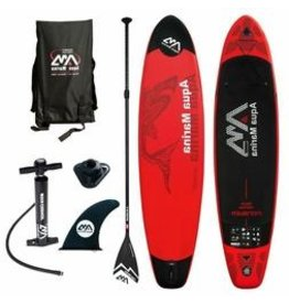 AQUA MARINA AQUA MARINA MONSTER 12' INFLATABLE PADDLEBOARD W/ PAD