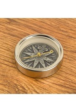 NAUTICALIA SILVER ANTIQUE COMPASS ROSE