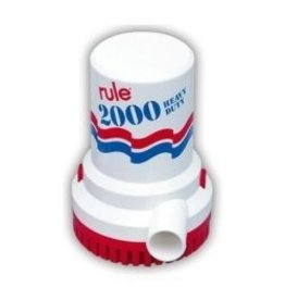 RULE RULE NON-AUTO BILGE PUMP 2000GPH 12V 10