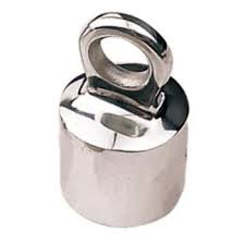 """STANCHION TOP CAP W EYE FOR 1"""" STANCHION"""