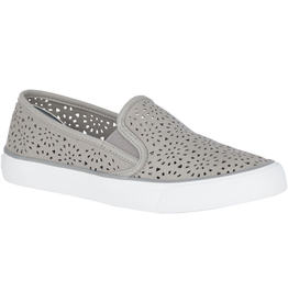 SPERRY SPERRY Seaside Perforated Sneaker - Grey (WOMEN'S)