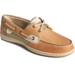SPERRY SPERRY BILLFISH 3 EYE DARK TAN BOAT SHOE (MEN'S)