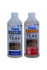 CAPTAIN PHAB CAPTAIN PHAB 2 PART TEAK CLEANER CP260