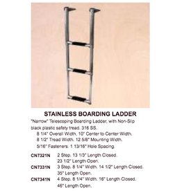 VICTORY TELESCOPING LADDER 4 STEP STAINLESS