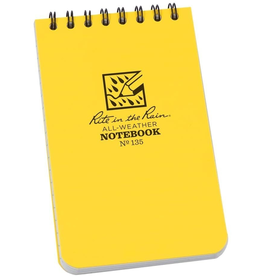 """RITE IN THE RAIN WATERPROOF ALL WEATHER WETNOTES NOTEBOOK 3"""" X 5"""""""
