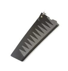 HOBIE® HOBIE MIRAGE SQUARE TIP TURBO FIN REPLACEMENT (GRAY)