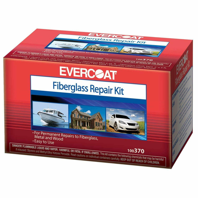 EVERCOAT EVERCOAT FIBERGLASS POLY/RESIN REPAIR KIT QUART
