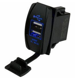 SEADOG SEADOG DUAL USB ROCKER STYLE 12-24V