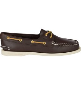 SPERRY SPERRY AUTHENTIC ORIGINAL BROWN BOAT SHOE (WOMEN'S)