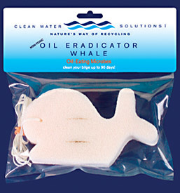 CLEAN WATER SYSTEMS CLEAN WATER OIL ERADICATOR WHALE