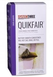 SYSTEM THREE SYSTEMTHREE QUIKFAIR 2 PART EPOXY FAIRING PUTTY 1.5 PINT KIT