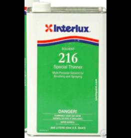 INTERLUX INTERLUX 216 SPECIAL THINNER SOLVENT (QUART)