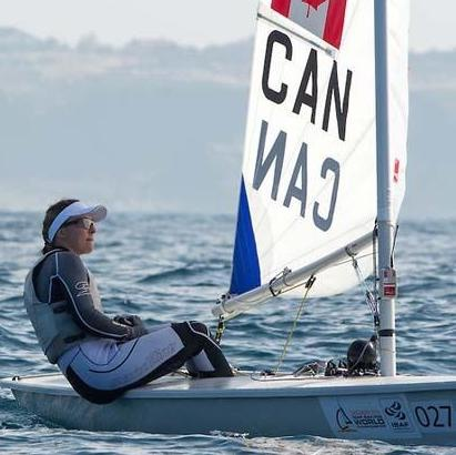 NORTH SAILS 420/LASER 'CAN' SAIL COUNTRY CODE (PAIR)