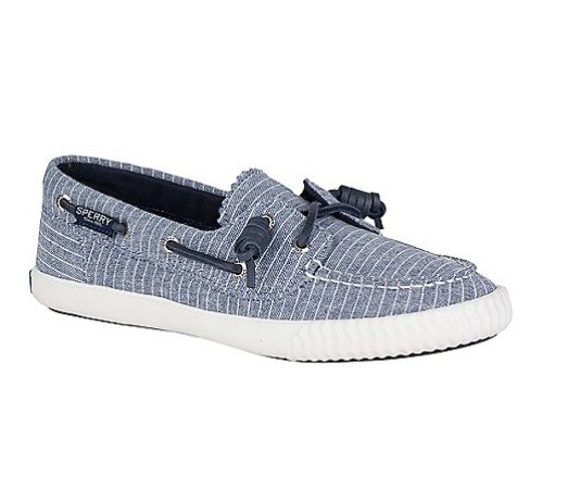SPERRY SPERRY SAYEL AWAY PIN STRIPE SNEAKER (WOMEN'S)