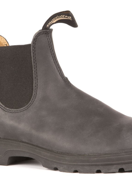 Blundstone 587 - The Leather Lined in Rustic Black
