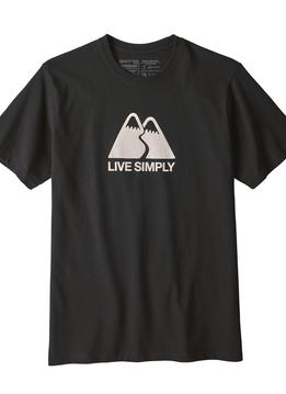 Men's Live Simply Winding Responsibili-Tee