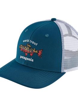 World Trout Brook Fishstitch Trucker Hat