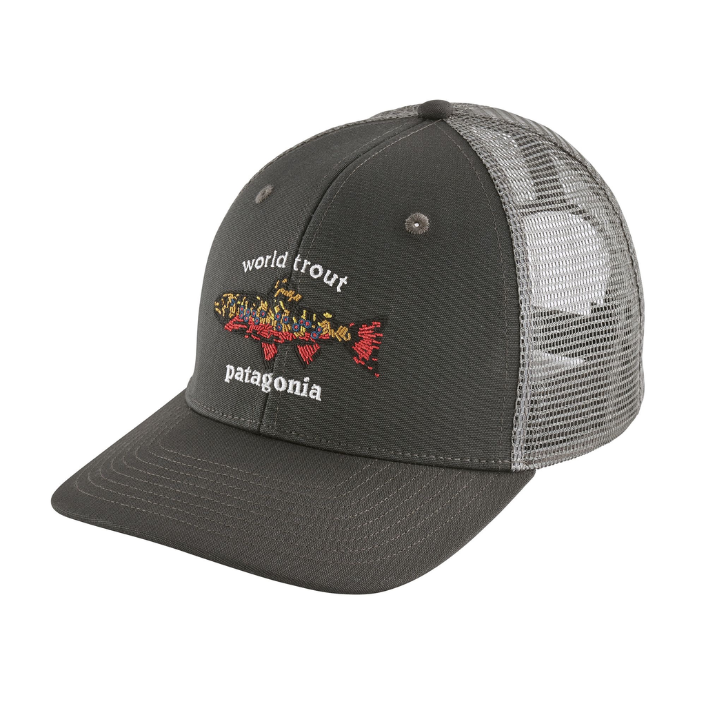 World Trout Brook Fishstitch Trucker Hat