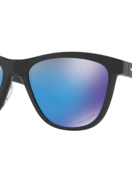 Eyewear Moonlighter Frame color: Polished Black, Lens color: Prizm Sapphire, Fit: Standard
