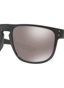Eyewear Holbrook R Frame color: Scenic Grey, Lens color: Prizm Black Polarized, Fit: Standard