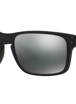 Eyewear Oakley Holdbrook Matte Black Frame, Lens Black Iridium HDO