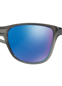 Eyewear Oakley Reverie Frame color: Gray Smoke, Lens color: Sapphire Iridium Polarized, Fit: Standard