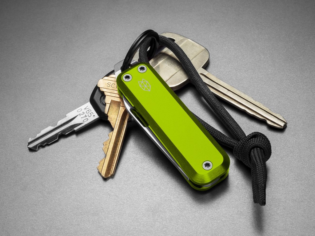James: The Elko: Electric Moss / Stainless / Aluminum / Straight