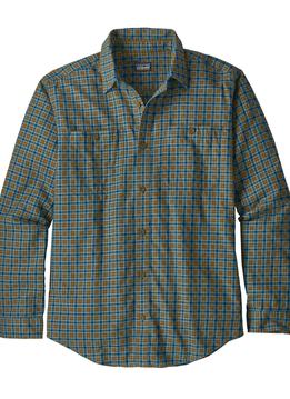 Men's Long-Sleeved Pima Cotton Shirt