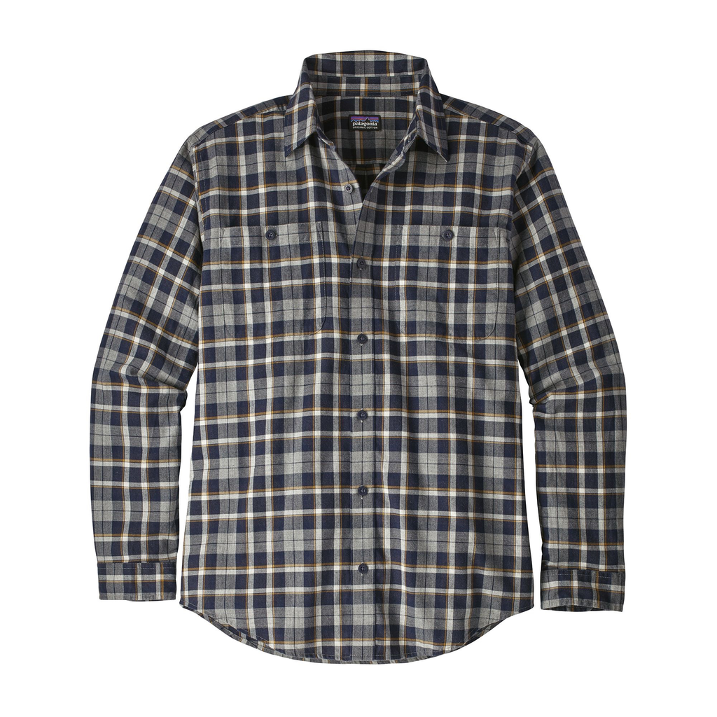 Men's Long-Sleeved Pima Cotton Shirt